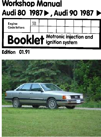 1987 Audi Matronics Injection And Ignition System  Manual Free Download