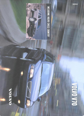 2002 Volvo V70 Owners Manual in Dutch