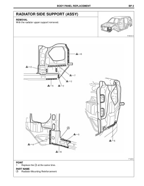 2003-2008 TOYOTA 4Runner Repair Manual, Radiator Side Support (Assy)