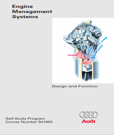 2003 Audi Engine Management Systems Self Study Programme Service Repair Manual Free Download