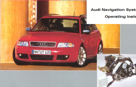 2004 Audi a3 Navigation System Manual Free Download