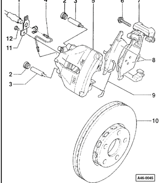 2004 Audi c5 a6 Brake Systems Free Download