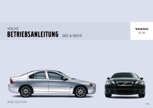 2006 Volvo S60 Owners Manual in German