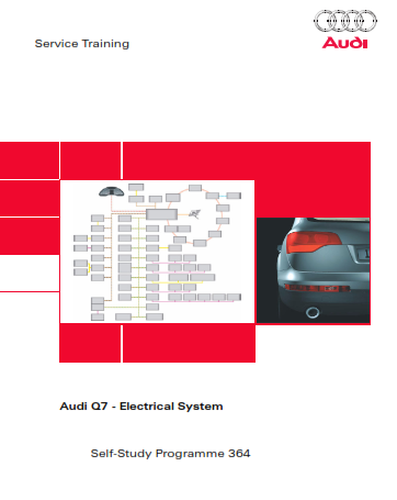 2007 Audi q7 Electrical System Self Study Programme Service Repair Manual Free Download