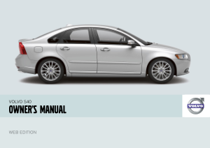 2008 Volvo S40 Owners Manual
