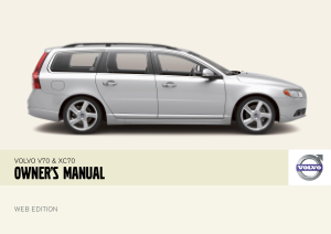 2008 Volvo V70 Owners Manual
