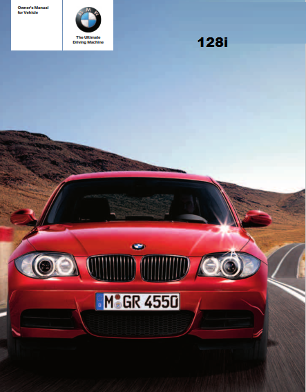 2008 Bmw 128i Convertible Owners Manual Free Download