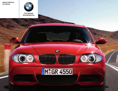 2008 Bmw 135i Coupe Owners Manual Free Download