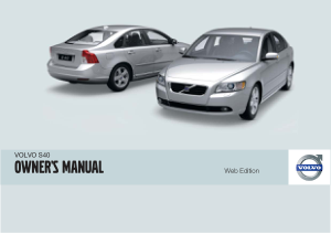 2009 Volvo S40 Owners Manual