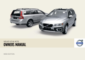 2009 Volvo V70 Owners Manual