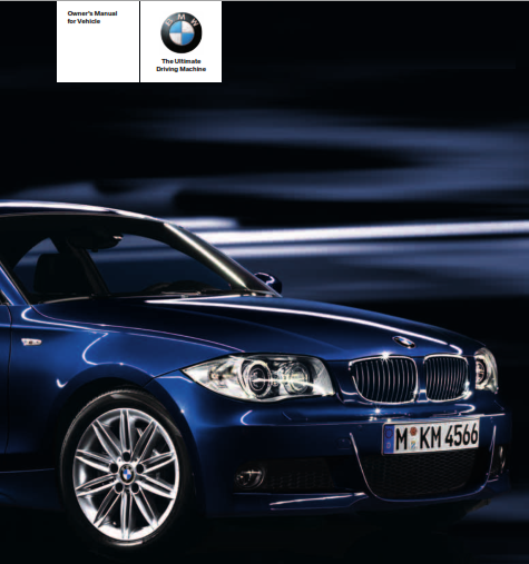 2009 Bmw 128i Convertible Owners Manual Free Download