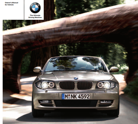 2010 Bmw 128i Convertible Owners Manual Free Download