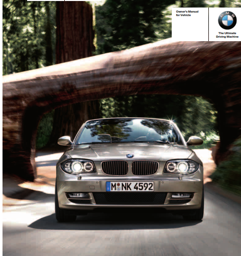 2010 Bmw 135i Convertible Owners Manual Free Download