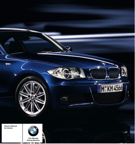 2010 Bmw 135i Convertible Without Idrive Owners Manual Free Download