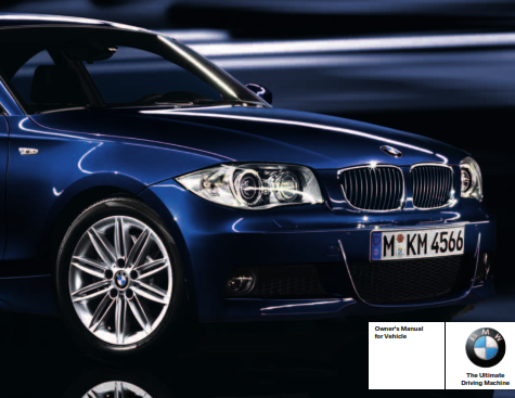 2010 Bmw 135i Coupe Without Idrive Owners Manual Free Download