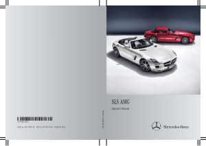 2012 Mercedes Benz SLS Operator Manual