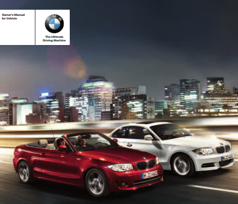 2012 Bmw 128i Coupe Owners Manual Free Download