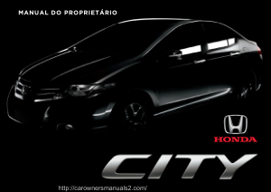 2013 Honda City Owners Manual in Portuguese