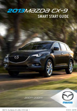 2013 Mazda CX9 Owners Manual