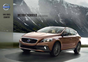 2013 Volvo V40 Cross Country Owners Manual