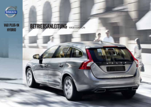 2013 Volvo V60 Plugin Hybrid Owners Manual