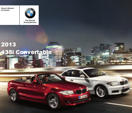 2013 Bmw 135is Convertible Owners Manual Free Download