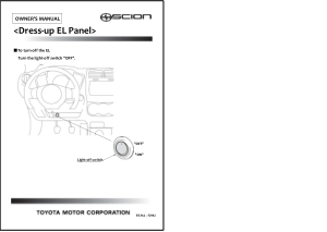 2013 Scion Xd Dress Up El Panel Owners Manual Free Download
