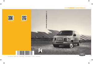 2014 Ford E 150 Owner Manual