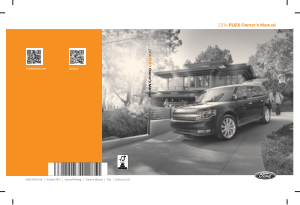 2014 Ford Flex Owners Manual