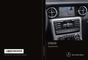 2014 Mercedes Benz C Class Sedan COMAND Operator Instruction Manual
