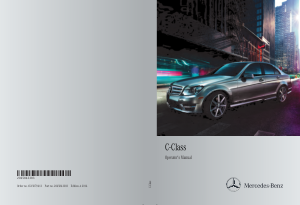 2014 Mercedes Benz C Class Sedan Operator Manual