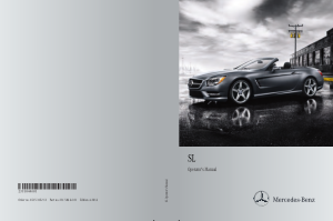 2014 Mercedes Benz SL Operator Manual