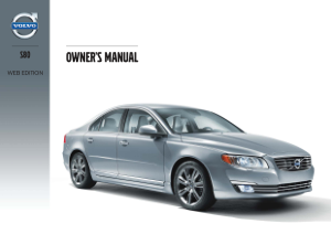2014 Volvo S80 Owners Manual