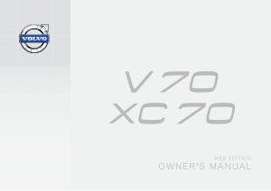 2014 Volvo V70 Owners Manual