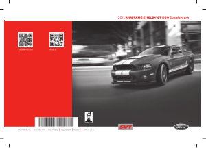 2014 Ford Mustang Shelby Gt 500 Supplement Free Download
