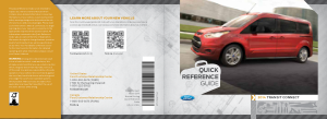 2014 Ford Transit Connect Quick Reference Guide Free Download