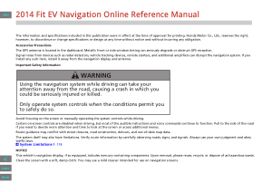 2014 Honda Fit Ev Navigation Manual Free Download