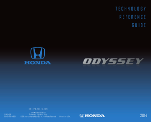 2014 Honda Odyssey Lx Technology Reference Guide Free Download
