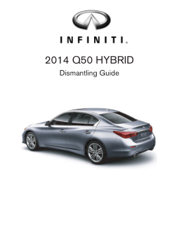 2014 Infiniti Usa q50 Hybrid Dismantling Guide Free Download