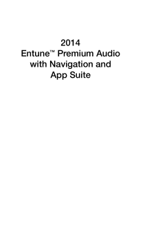 2014 Toyota Sienna Entune Premium Audio With Navigation And App Suite Free Download