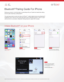 2014 Toyota Tundra Bluetooth Pairing Guide For Iphone Free Download