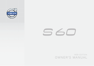 2015 Volvo S60 Owners Manual