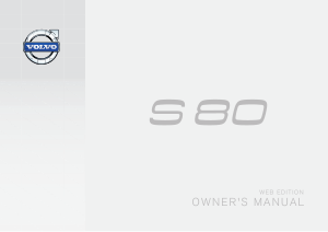 2015 Volvo S80 Owners Manual