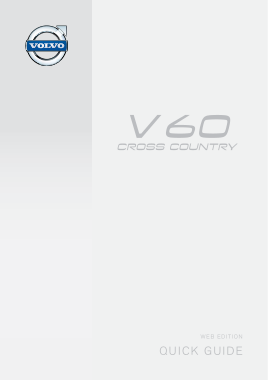 2015 Volvo V60 Cross Country Web Edition Owners Manual