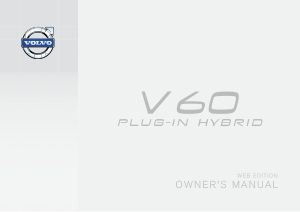 2015 Volvo V60 Plugin Hybrid Owners Manual in German