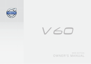 2015 Volvo V60 Web Edition Owners Manual