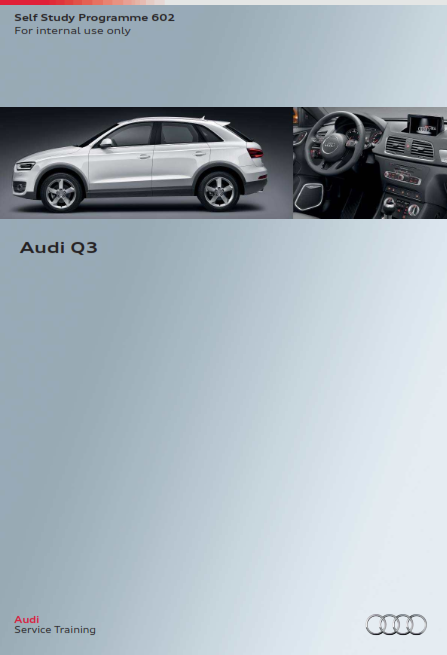 2015 Audi q3 Self Study Programme Service Repair Manual Free Download