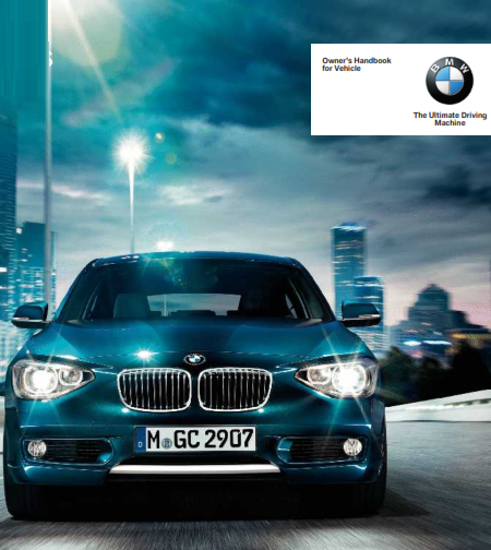 2015 Bmw 1 Series f20 Owners Manual Free Download