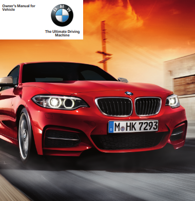 2015 Bmw 228i Coupe Owners Manual Free Download