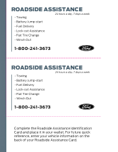 2015 Ford f-150 Roadside Assistance Free Download